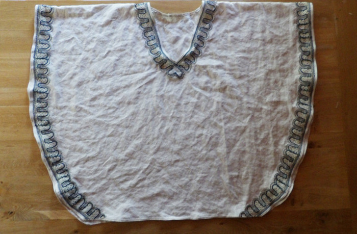 La robe du Sud... tutoriel pour créer un mini kaftan-Etape 2: Bords du Kaftan et ourlets