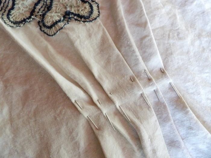 La robe du Sud... tutoriel pour créer un mini kaftan-Etape 3: Création de l'attache du Kaftan