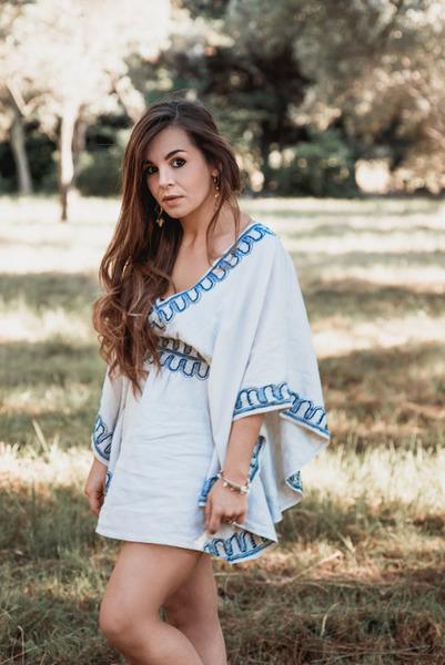 La robe du Sud... tutoriel pour créer un mini kaftan-tadaaaaa!