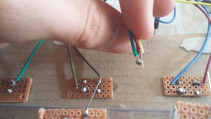 Le jeu Simon avec Arduino-le cablâge
