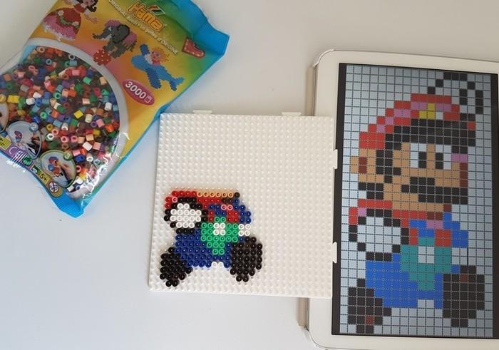 Support de bougie Mario-