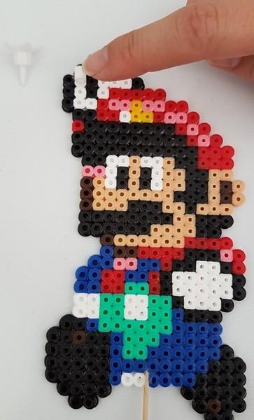 Support de bougie Mario-Etape 3: Ajouter le cure dent et le support bougie