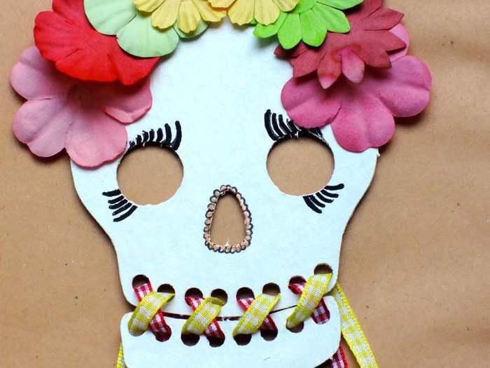 Crâne Frida-Habillage