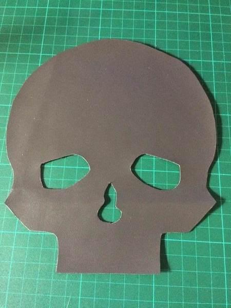 Carnet Crâne et reliure japonaise-4. Réalisation des couvertures