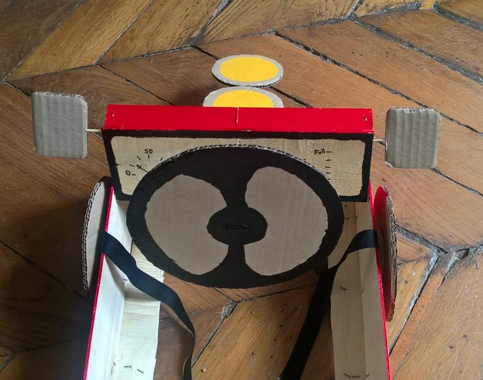 Le déguisement voiture de course pour enfants-Tadam !
