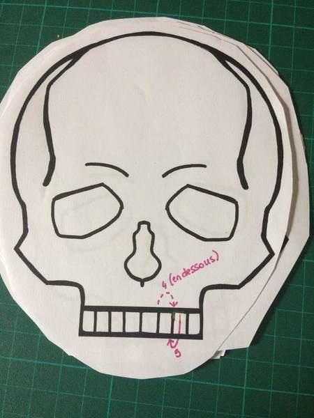 Carnet Crâne et reliure japonaise-6. Couture ! (c'est là qu'on rigole)