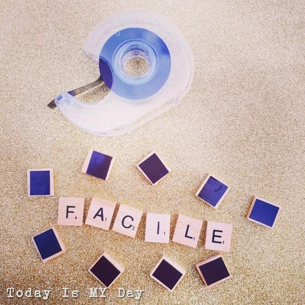 Letter Board magnétique-Aimanter les lettres