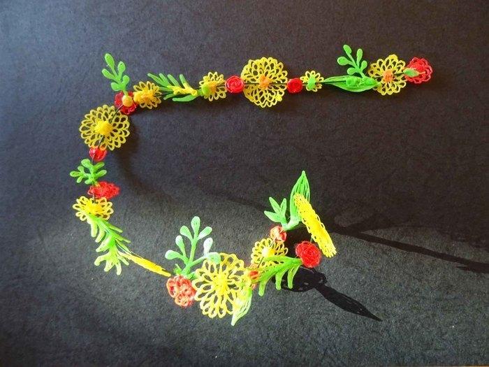 Bracelet fleuri au stylo 3D-Façonnage