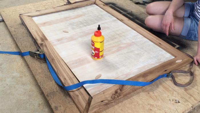 Table basse en capsules-Plateau