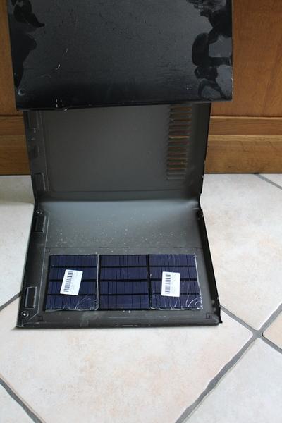 Open Serre, une serre autonome à arrosage automatisé-Étape 1: Fabrication du panneau solaire