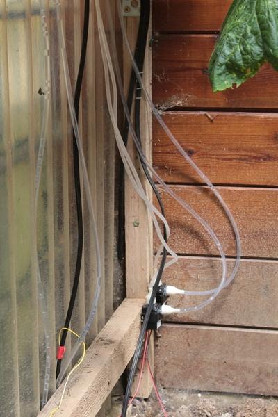 Open Serre, une serre autonome à arrosage automatisé-Etape 2 : Mise en place du circuit d'eau