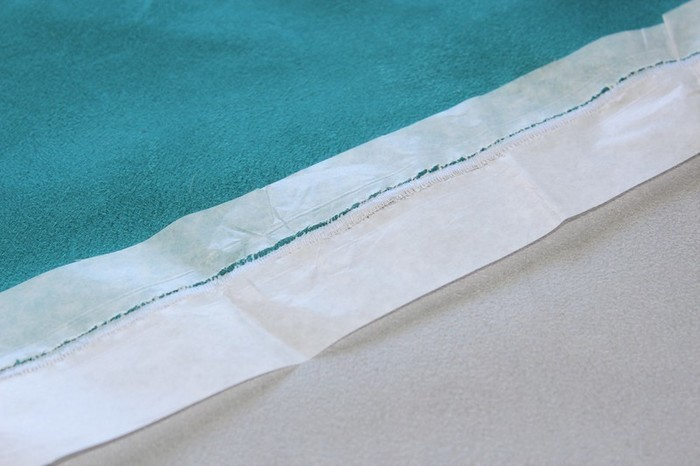 Tapis en suédine au design scandinave -Assemblage du tapis