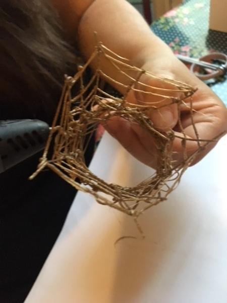 Mon panier à Bijoux au stylo 3D-Le cannage
