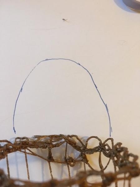 Mon panier à Bijoux au stylo 3D-l'anse du panier