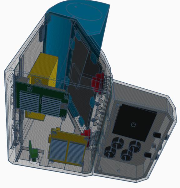 Bartop Neo Geo v.JAP-La structure