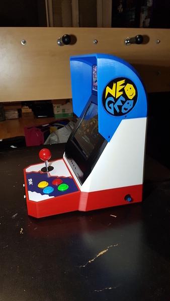 Bartop Neo Geo v.JAP-Le résultat