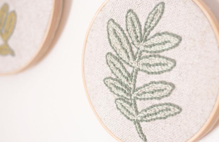 Un herbier en punch needle-ET VOILÀ !