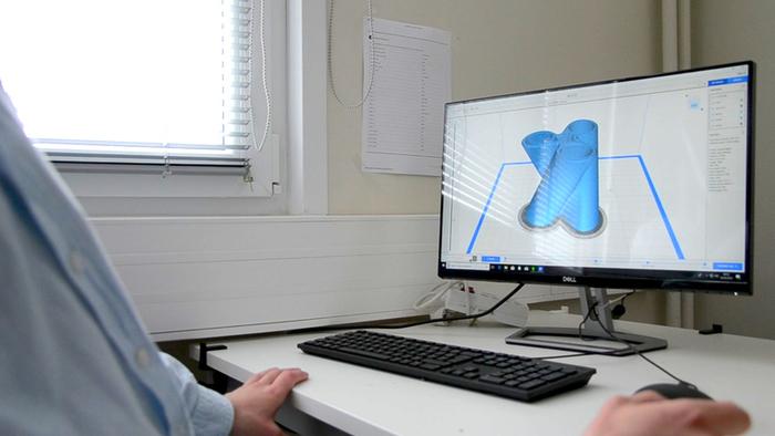 Tabouret Acolyte-Impression de la pièce 3D
