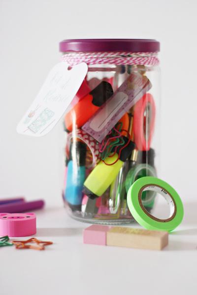 DIY BACK TO SCHOOL : UN KIT DE RENTRÉE-Le résultat