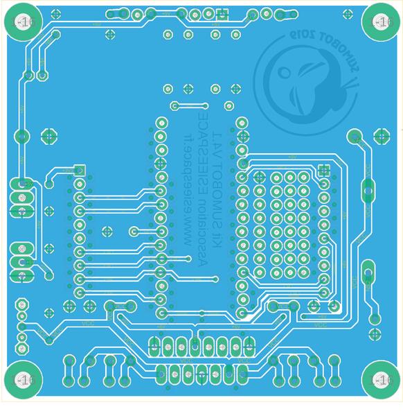 Construisez votre robot Sumobot-Routage du circuit électronique sur EAGLE