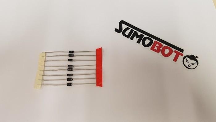 Construisez votre robot Sumobot-Soudage des diodes
