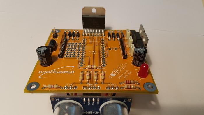 Construisez votre robot Sumobot-Soudage des connecteurs