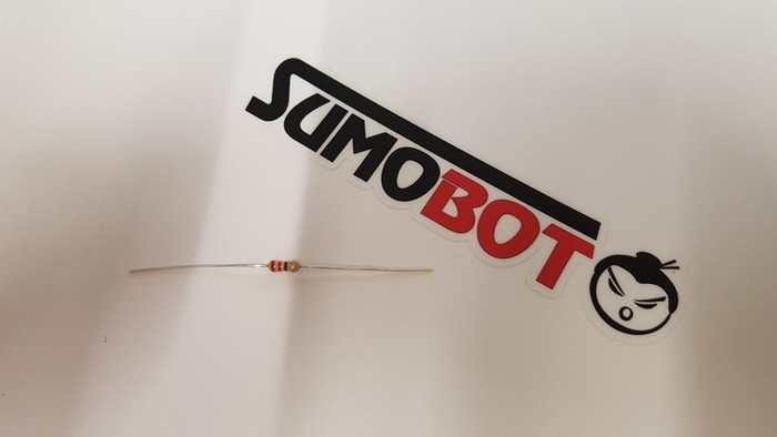 Construisez votre robot Sumobot-Soudage des résistances