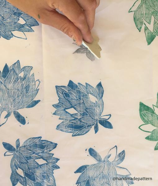 Concevez un tampon pour customiser votre parure de lit-Etape 9