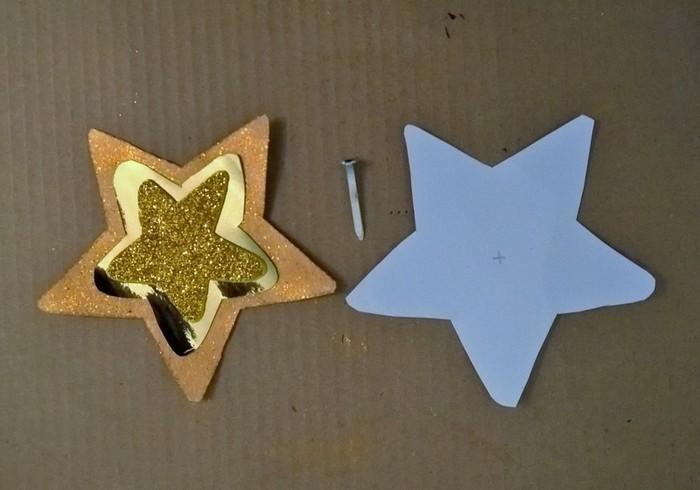Le calendrier de l'Avent étoilé (et ses surprises à gratter)-On fabrique l'étoile filante
