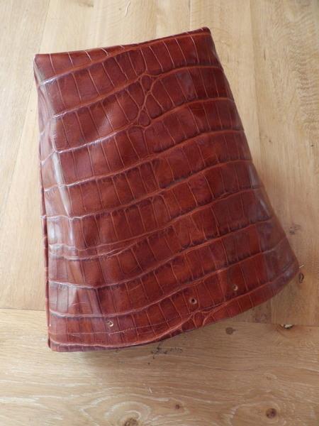 sac seau en cuir super facile  -Bandoulière
