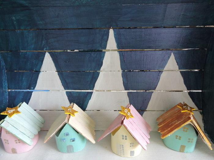 Avent Noël sous une tempête d'étoiles...-Les chalets