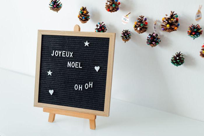 Calendrier de l'Avent des petits bonheurs-Joyeux Noël !