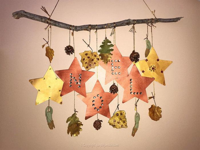 Une suspension murale pour Noël-Accrocher la suspension murale et profiter !