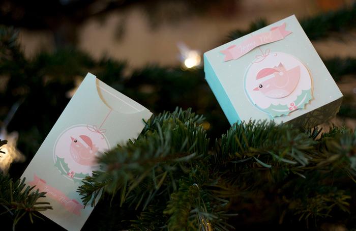 Boites cadeaux et cartes de Noël à imprimer-TADAAAAA !