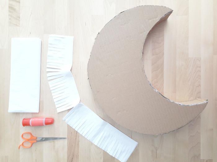"""DIY & Piñata de Noël-Réalisez la structure """"lune"""""""