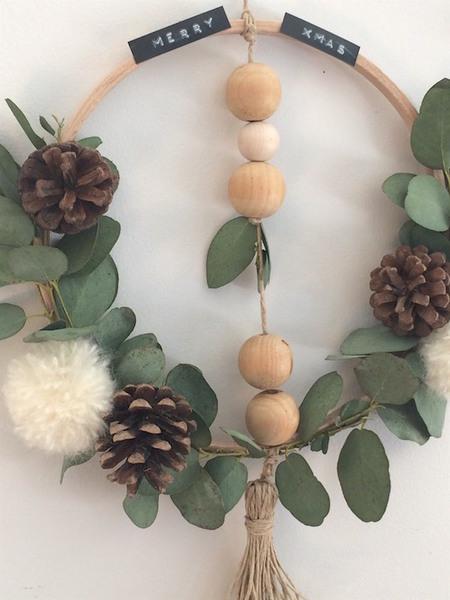 {DiY} Couronne de Noël Eucalyptus-Petites décorations