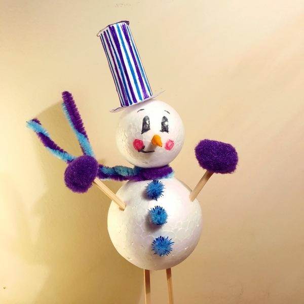 Bonhommes de Noël-La décoration