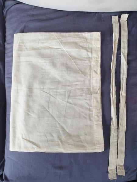 Housse de coussin : Totebag+vieux vêtements-Défaire