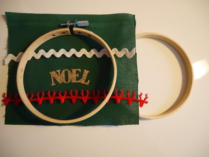 Les tambours de Noël-Mise en place des tambours