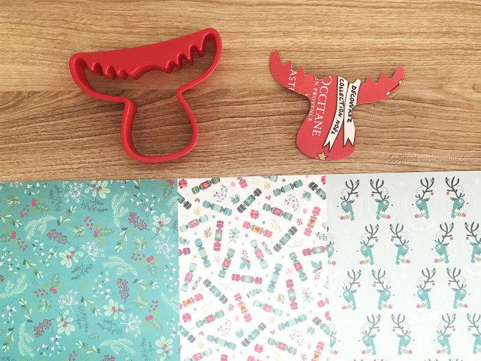 Tisane de Noël customisée-Fabriquer des étiquettes en forme de renne