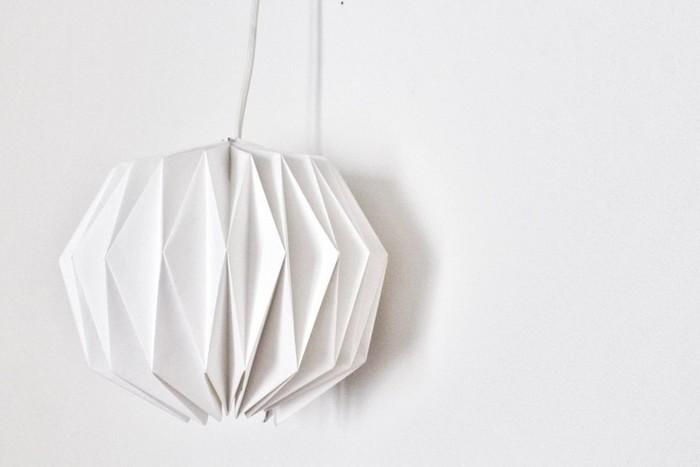 Abat-jour origami -Tadam !