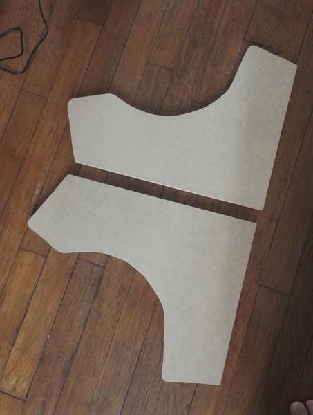 Fabriquer un bartop (une mini borne d'arcade)-1-Plans et Découpe