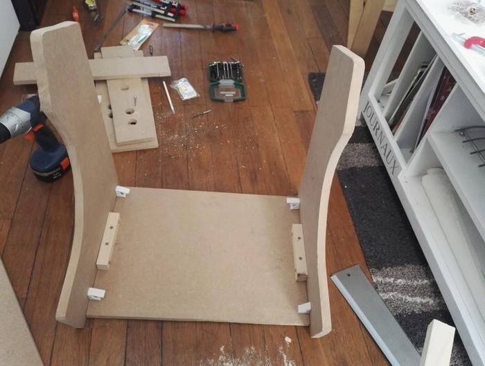 Fabriquer un bartop (une mini borne d'arcade)-Assemblage des deux côtés