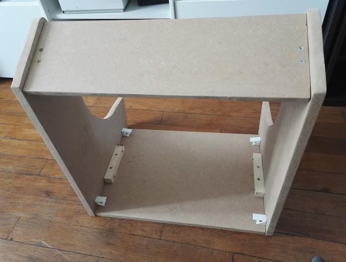 Fabriquer un bartop (une mini borne d'arcade)-Assemblage