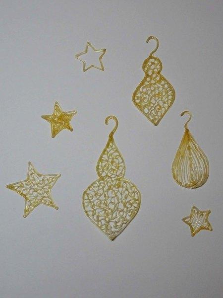 Déco de Noël au stylo 3D-Le tracé des motifs
