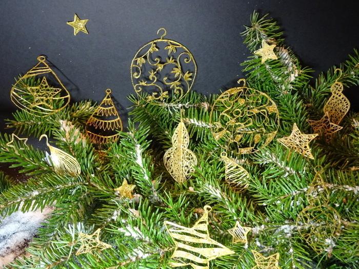 Déco de Noël au stylo 3D-Le résultat !
