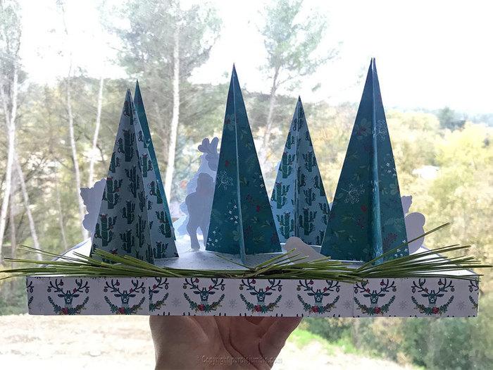 Décor de Noël en papier-Fabriquer un support