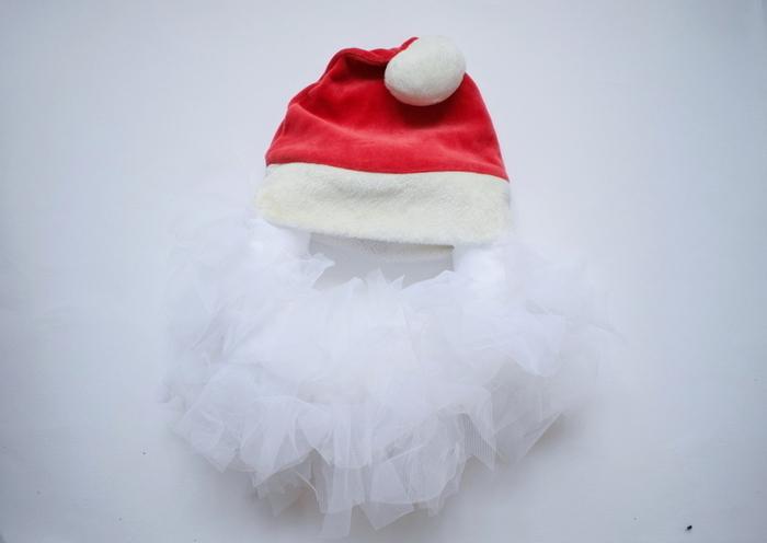 Couronne de Porte de Noël-La barbe - 2