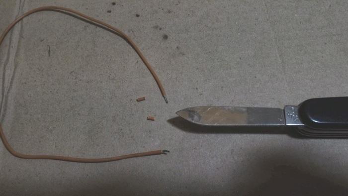 Fabriquer un câble sur mesure-Dénuder du fil