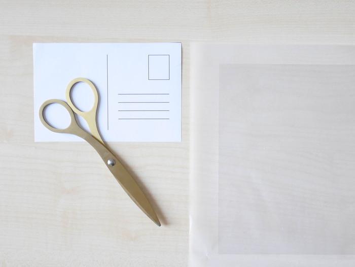 DIY & Carte de voeux confettis-Réalisation de la carte de voeux